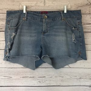 TORRID Distressed Denim Jean Shorts Size 2X